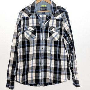 American Rag Slim Fit Long Sleeve Button Down